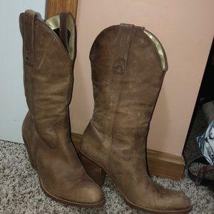 Jessica Simpson cowboy boots size 9